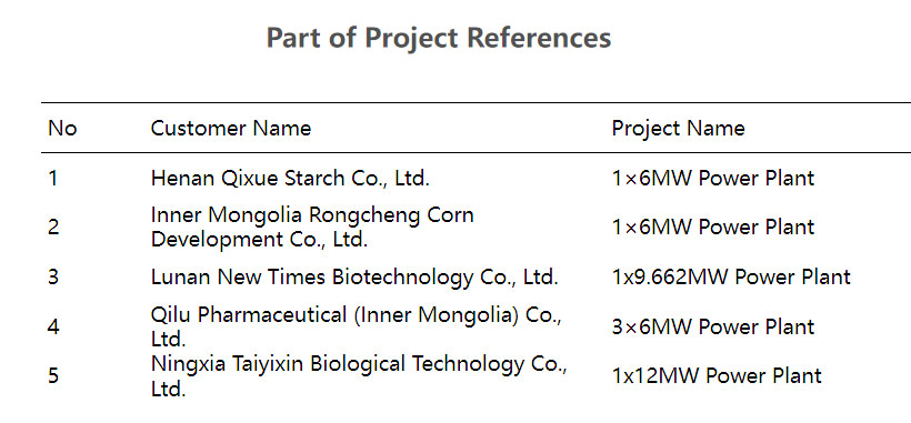 12MW power station project of Ningxia Taiyixin Biotechnology Co., Ltd.