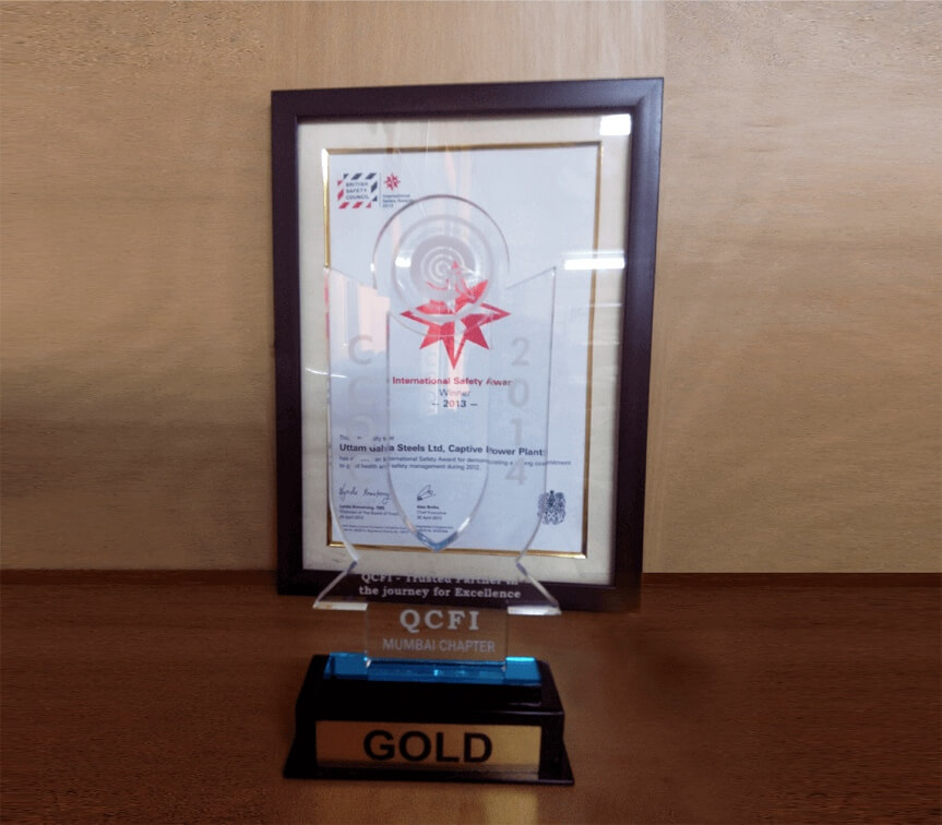 Congratulations to Yuanhe Power Plant Co., Ltd. for winning the gold medal for the Uttam project