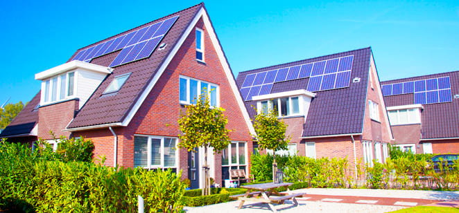 Distributed photovoltaic power station