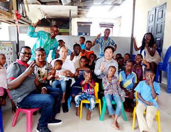 Charity In Action-Donation Activity to Nigerian Orphanage