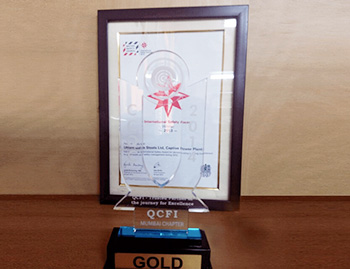 Congratulations on our Uttam Project Winning Gold Medal