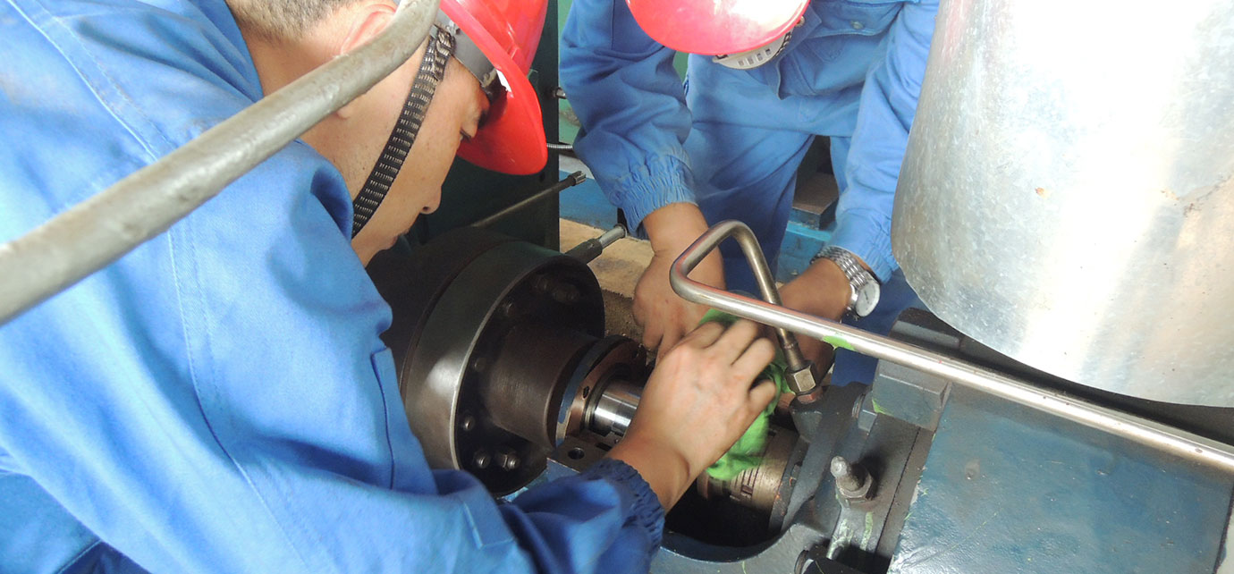 Overhaul and maintenance of power plant