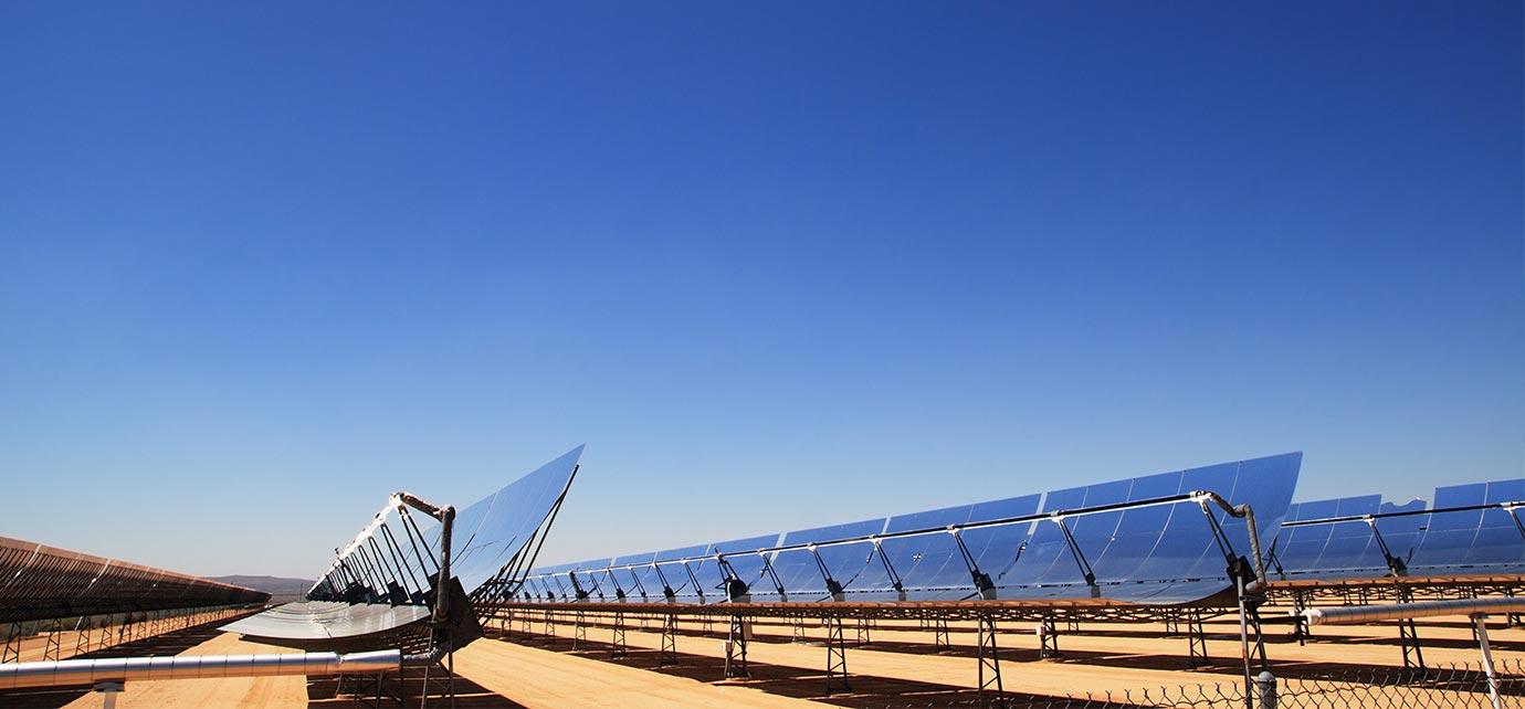 Characteristics of trough solar energy