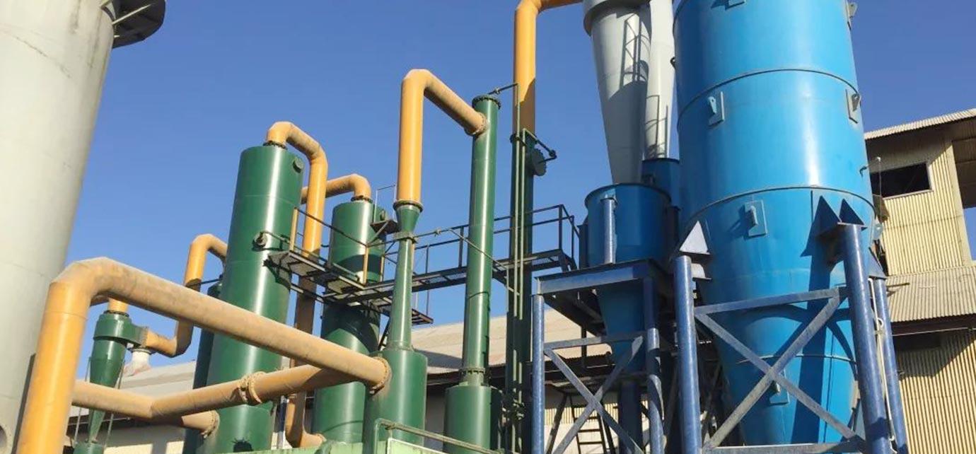 Biomass pyrolysis technology