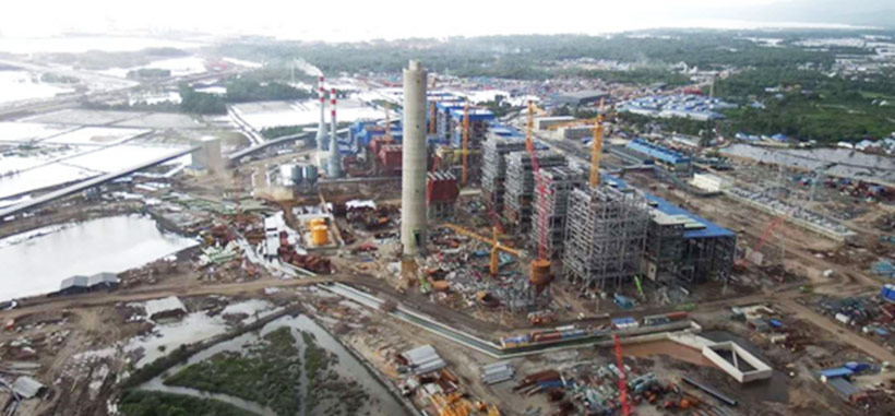 Indonesia PT.OSS 4x135mw & 2x60 MW power station relocation project
