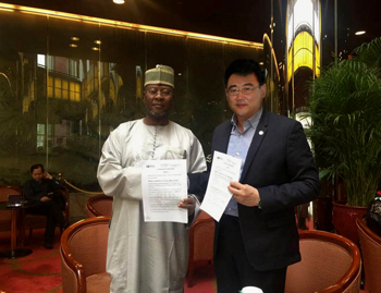 Runh Power Signed exclusive MOU with Nigeria President delegation