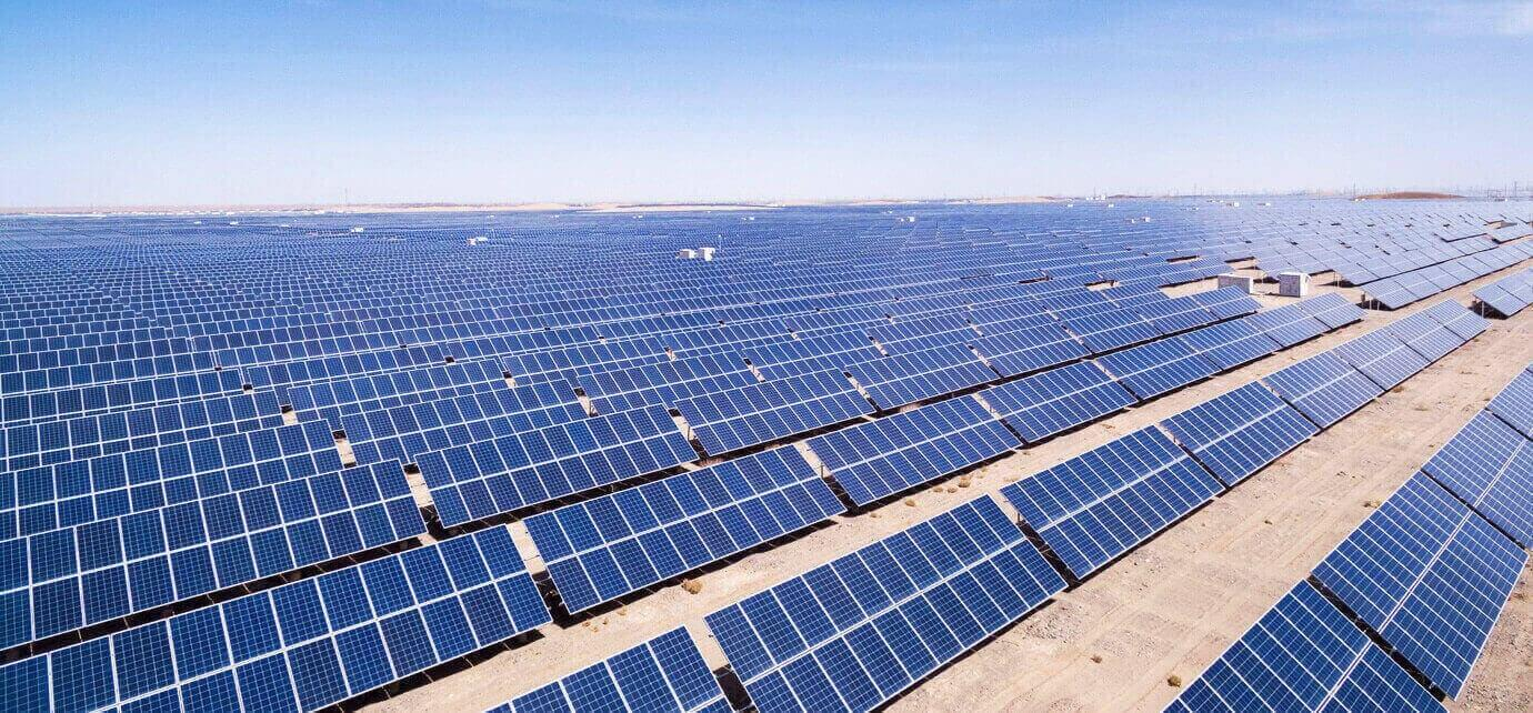 Large-scale ground photovoltaic power station