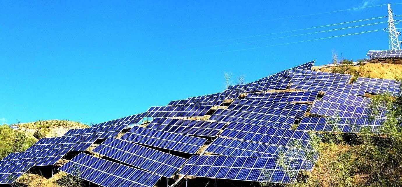 Off-grid photovoltaic power plant