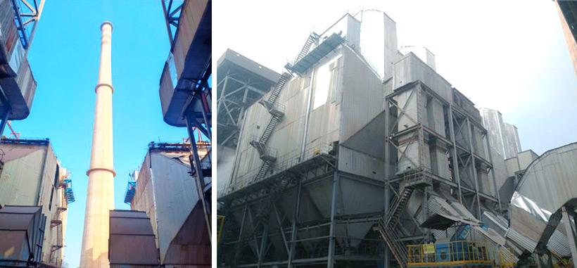 Environmental protection reconstruction of India Vedanta 3x30mw power plant